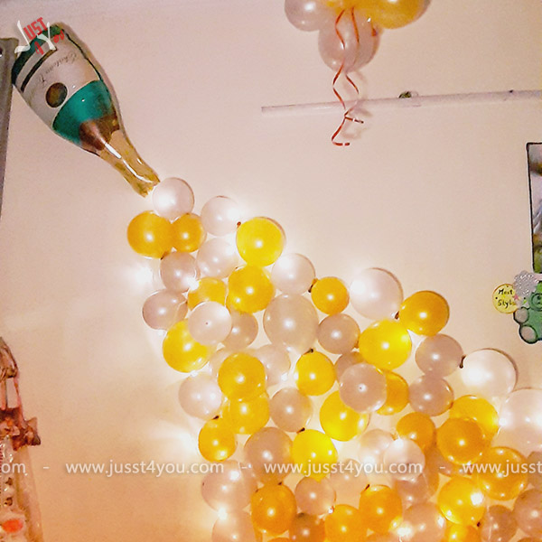 champagne decor - Jusst4you